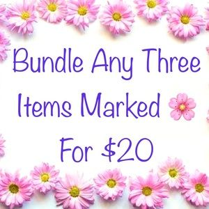 🌸 3 items for $20🌸